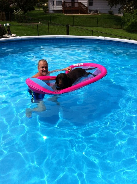 Maggieinpool